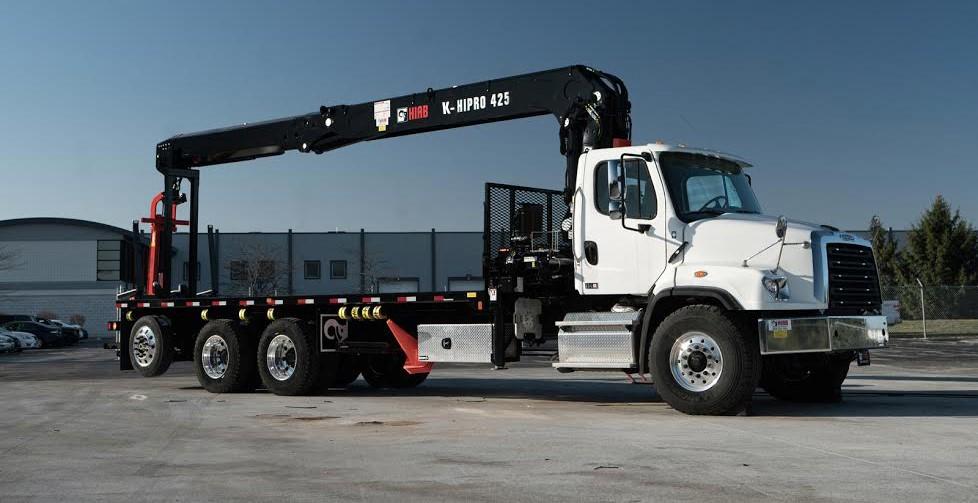 use Hiab Crane Truck